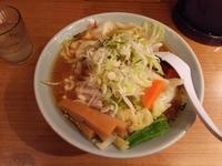 梅光軒新千歳空港店で醤油野菜ラーメン(2017年153杯目) - eihoのブログ