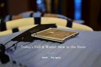 """Today's F/W New in the store...10/15sun"" - SHOP ◆ The Spiralという館~カフェとインポート雑貨のある次世代型セレクトショップ~"