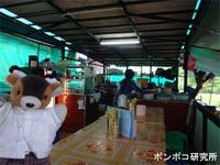 テント食堂でマーラーヒンを食べる - ポンポコ研究所