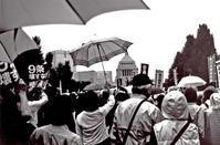 「ノーベル平和賞」2016年・国会議事堂前 - 写真家藤居正明の東京漫歩景