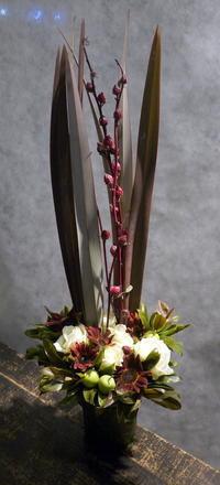 大通西22のバーの15周年にアレンジメント。2017/10/14。 - 札幌 花屋 meLL flowers