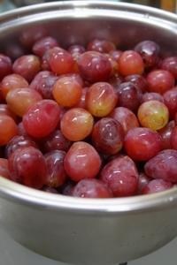 葡萄ジュース作り - 葡萄と田舎時間