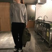 エルボーパッチのカットソー - SHE DANCES TO SILENT MUSIC