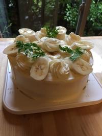 バナナショートケーキレッスン - 調布の小さな手作りお菓子教室 アトリエタルトタタン
