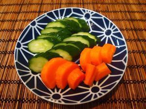 夕食は自家製ぬか漬け - sobu 2
