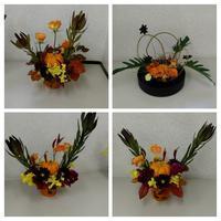 基本形と花あそび - 花サークルAmelyの花時間