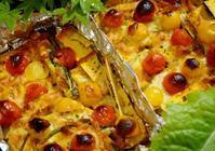 ■続・菜園発【ひょうたん南瓜とミニトマトのガーリックチーズ焼き他バリエも♪】 - 「料理と趣味の部屋」