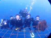 10月17日降ったり晴れたり!!体験ダイビングDAY - 沖縄・恩納村のダイビング・青の洞窟体験ダイビング・スノーケルご紹介