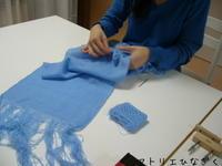 生徒さんのマフラー出来上がり - アトリエひなぎく 手織り日記