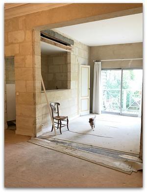 ボルドーの家、改装準備A to Z~!<設置素材の位置詳細図> - ◆Cinq*Etoiles◆