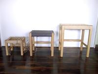 神奈川に出張!スツールの座編みワークショップを開催します - blog //『家具と玩具と子供達』