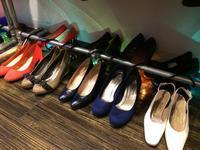 Leather shoes 👡  - 「NoT kyomachi」はレディース専門のアメリカ古着の店です。アメリカで直接買い付けたvintage 古着やレギュラー古着、Antique、コーディネート等を紹介していきます。