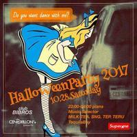 2017.10.28.SAT│*HalloweenParty2017* - Superme - Number.10 @clubBIBROS - CENDRILLON+