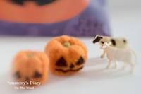 「モォ〜〜」すぐ、ハロウィン - ON THE WIND  *mummy's Diary