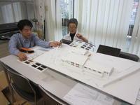色の検討を行いました - 吉田建築計画事務所-プロジェクト-