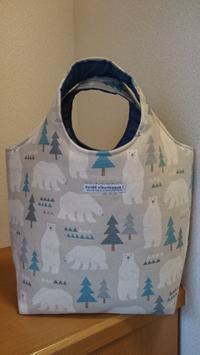 白熊プリントでトートバッグとハロウィン飾り - AssortClothのハンドメイドダイアリー