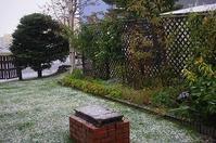 初雪 - 北緯44度の雑記帳