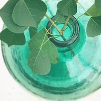 青緑色のガラス瓶 - 雑貨店PiPPi