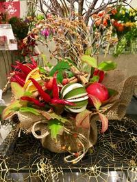 Let's have a Halloween party 🎃 - ~ Flower Shop D.STYLE ~ (新所沢パルコ・Let's館1F)