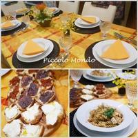 10月のCooking Classが終了しました♪ - Romy's Mondo ~イタリア料理教室「Piccolo Mondo」主宰者Romyの世界~