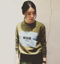 大人気!!「MSGM」トレーナー新作入荷!! - UNIQUE SECOND BLOG