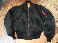 デッドストック!80s ALPHA ブラッックカラー MA-1 ジャケット! - ショウザンビル mecca BLOG!!