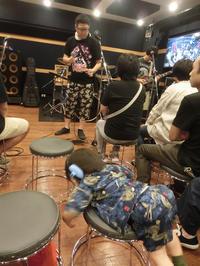 【07/17】秋葉原 ノアCスタジオ (人間椅子コピーセッション) - ご自愛ください。