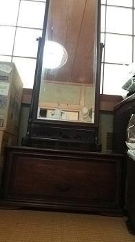 祖母の鏡台 - 魚津でもクマクマな日々