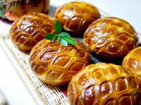 かぼちゃのタルトレットと パン・ドゥ・リエージュ4回目 - パンとお菓子と美味しい時間 (パン教室ココット)