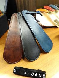 人気の革巻きシューホーンに携帯用サイズが登場!プレゼントにも最適です - シューケアマイスター靴磨き工房 銀座三越店