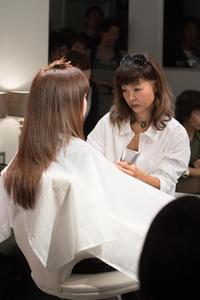 vol.97「林江美の仕事」 - Monthly Live    営業後の美容室での美容師による単独ライブ