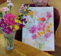 原田伸治水彩画塾、指導備忘録 ~91歳の習いごと~ - 筆一本あれば人生は楽し!