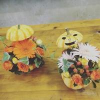 ハロウィンアレンジ講習会 - 我蘭堂(ガーランド)バックヤードへようこそ!
