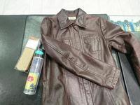 レザージャケットのお手入れ - ルクアイーレ イセタンメンズスタイル シューケア&リペア工房<紳士靴・婦人靴のケア&修理>