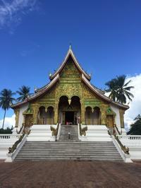 王宮博物館とプーシーの丘からの夕陽@ルアンパバーン - ☆M's bangkok life diary☆