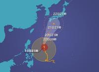 台風21号 - アキバというより外神田
