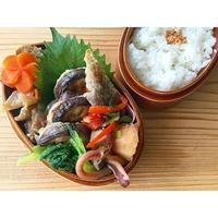 茄子挟み焼きBENTO - Feeling Cuisine.com