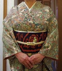 着物のお稽古'17/10/19 - 柴犬たぬ吉のお部屋