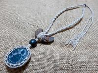 【マクラメ&ヘンプ】#171セプタリアンのネックレス - Shop Gramali Rabiya (SGR)