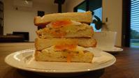 ハードトーストでサンド。 - 奈良県パン教室『ぱんといろいろ…。』