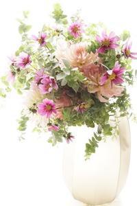 大人の修学旅行へ - お花に囲まれて