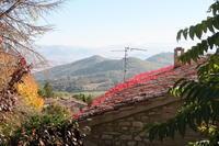 紅葉・霧のミジャーナと改築状況、イタリア - イタリア写真草子 - Fotoblog da Perugia