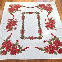 Vintage Tablecloth - 烏帽子への風