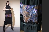 シックで華やかなクチュールな刺繍のドレスとスカート - 美人レッスン帳 BELA VISTA編