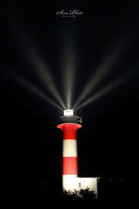 石狩灯台ライトアップ - SORA PHOTO