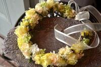 花嫁さんの花冠♪ - 花色~あなたの好きなお花屋さんになりたい~