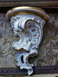 磁器の壁掛け式小棚19 - スペイン・バルセロナ・アンティーク gyu's shop