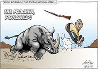よくやった!サイが密猟者を襲って撃退!! - 親愛なる犀たちへ