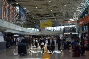 出発@フュミチーノ、レオナルド・ダ・ヴィンチ国際空港♪ - ローマより愛をこめて