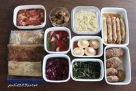 今週の作り置き - 男子高校生のお弁当